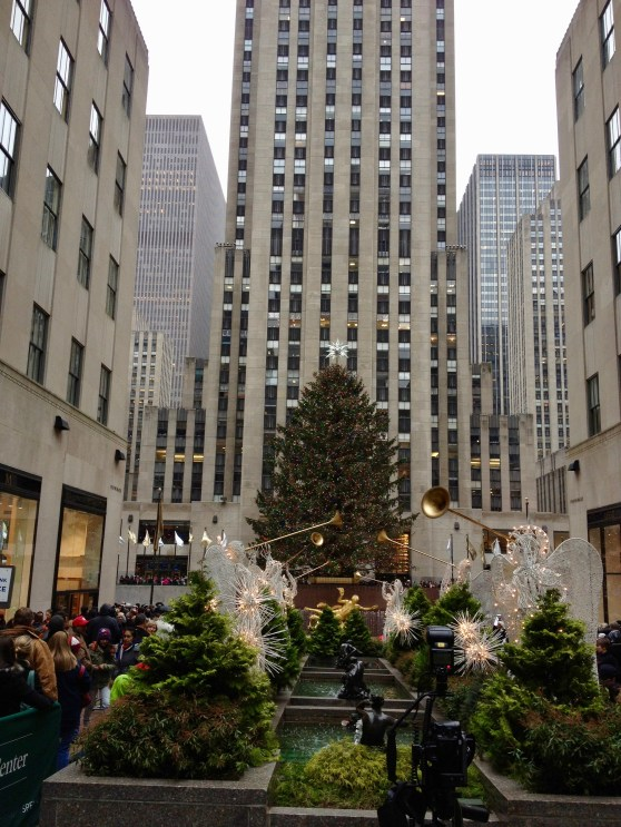 Rockefeller Centre Christmas decorations