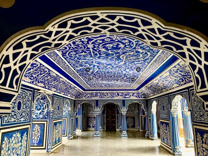City Palace Blue Room