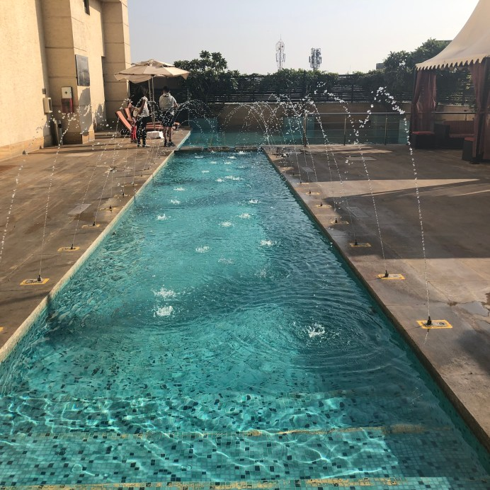 Pool at Hilton Jaipur
