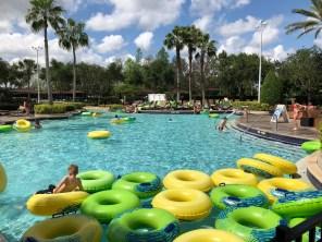 Pool Side Hilton Orlando