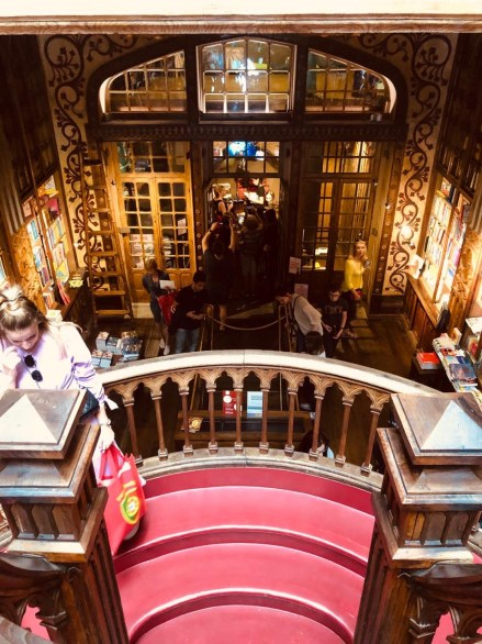 Livraria Lello – Porto's beautiful book store.