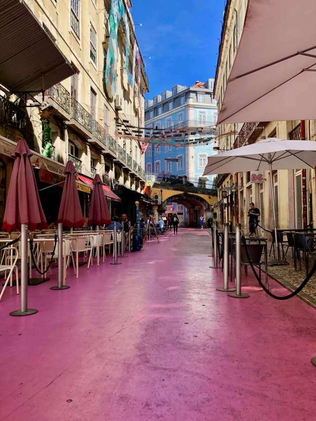 Pink Street Lisbon