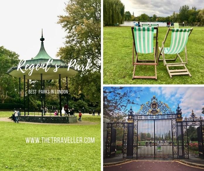 Regents Park - Best Parks in London