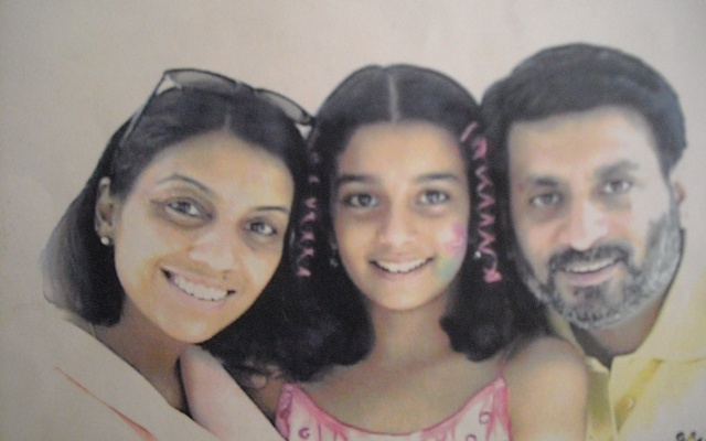 Image of murder victims in Noida double murder case