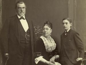 Photo of the Stanford Family