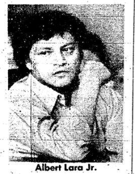 Photo of Albert Lara Jr., a suspect in Georgia Crews murder case