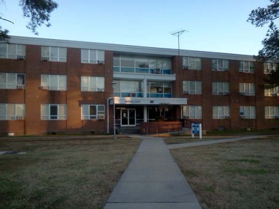 Photo of the Mitchell-Lewis Dorm
