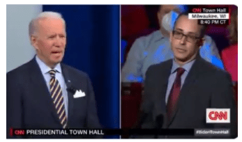 Ignored by Media: Dirtbag Joe Biden Says US Veterans and Former Police Officers Are Fueling White Supremacism in America - The True Defender !