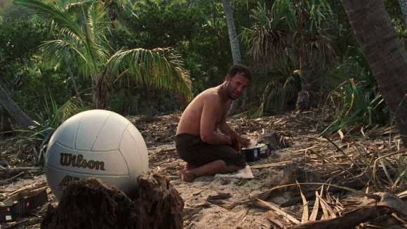 "Tom Hanks' character in the famous movie ""Cast Away' by The Truly Wealthy"