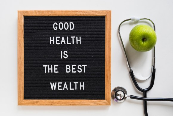 Health is real wealth by The Truly Wealthy