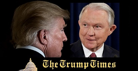 Trumps Urges Sessions to End Russian Probe
