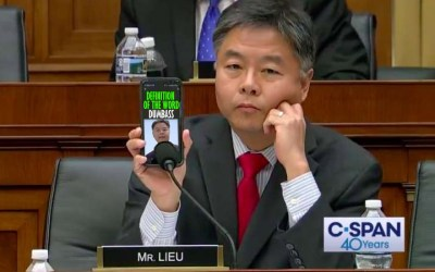 Ted Lieu Responds Like A Democrat When A Voter Criticizes His Work Ethic on Twitter