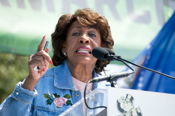 Maxine Waters Calls Trump A 'Traitor,' 'Fornicator' In Unhinged Tweetstorm