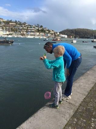 Crabbing, Dartmouth