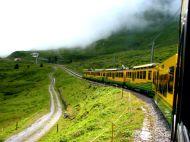 The train to Jungfrau