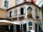 Pretty cafe in the Altstadt