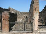 The ruins of a residence from the Roman times