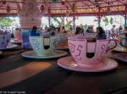 The Mad Hatter's Tea Party ride at Magic Kingdom - Guide to the Orlando Theme Parks - The Trusted Traveller