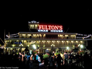Fulton's Crab House at Downtown Disney - Guide to the Orlando Theme Parks - The Trusted Traveller