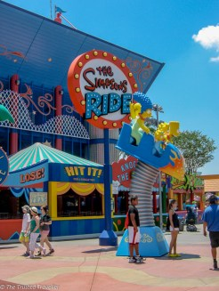 The Simpsons Ride at Universal Studios - Guide to the Orlando Theme Parks - The Trusted Traveller