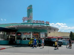 Drive in Diner at Universal Studios - Guide to the Orlando Theme Parks - The Trusted Traveller
