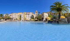 The pool at the Loews Portofino Bay Hotel at Universal Orlando - Where to Stay Near the Orlando Theme Parks - The Trusted Traveller