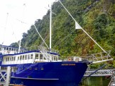 Our sailing ship for the cruise on Milford Sound - Our Journey to Milford Sound - In Photos - The Trusted Traveller