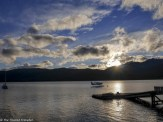 Sunset on Lake Te Anau - Our Journey to Milford Sound - In Photos - The Trusted Traveller