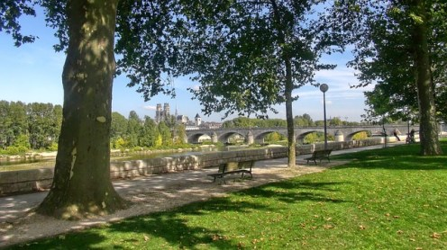 Cycle paths along the river in the Loire Valley - The Best of France: A Two Week Itinerary - The Trusted Traveller