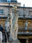 A statue in The Roman Baths, Bath - See the Best of England: A Three Week Itinerary - The Trusted Traveller
