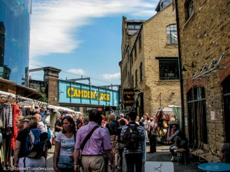 Camden Market, London - See the Best of England: A Three Week Itinerary - The Trusted Traveller