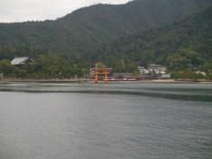 Approaching Miyajima on the ferry