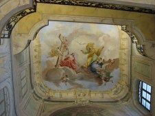 Frescoed ceiling in Prague Castle