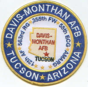 Image result for pics davis monthan airbase logo