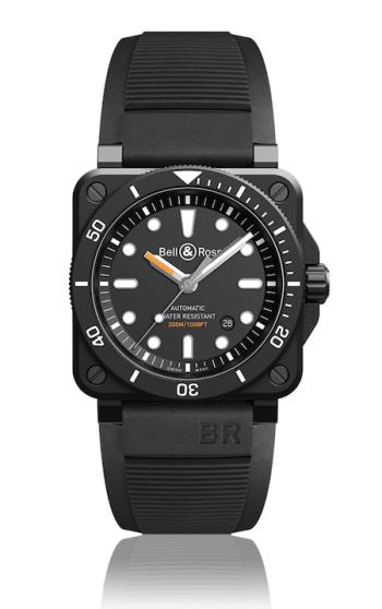 Bell & Ross black diver's watch