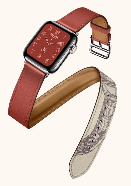 Hermes scarf motive smartwatch
