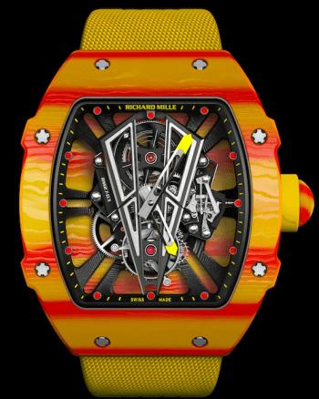 Rafael Nadal's Richard Mille watch