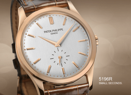 Patek Philippe Caltrava small seconds