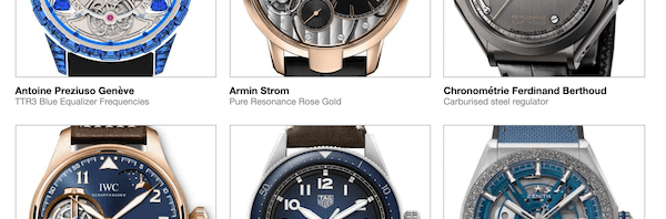 GHPG Chronometry finalists