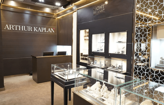 Arthur Kaplan Mall of Africa showroom