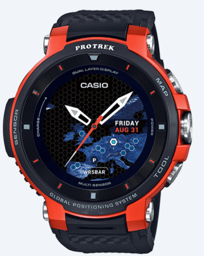 Casio Pro-Trek WSD F30 with new screen