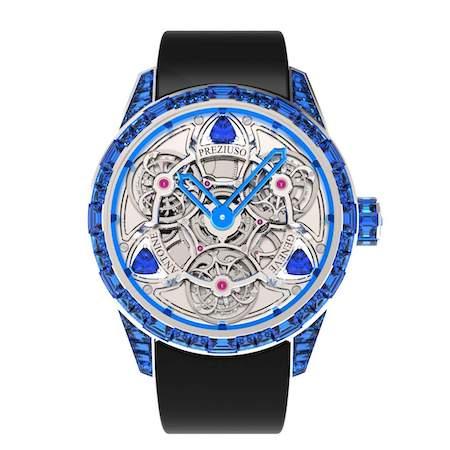 GPH Chronometry finalist in blue