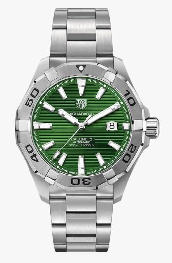 Tag Heuer Aquaracer in green