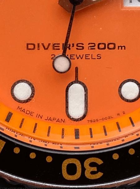 Close-up Seiko Diver (courtesy thetruthaboutwatches.com)