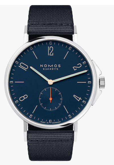 NOMOS Ahoi Atlantic is one of the best less-expensive Rolex Submariner alternatives
