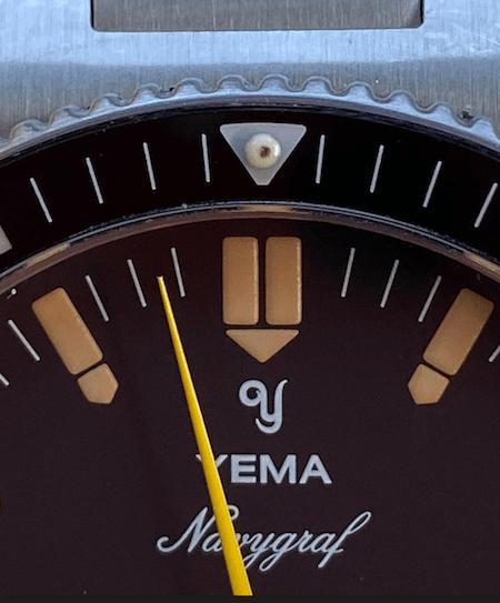 Yema Navygraf close-up detail