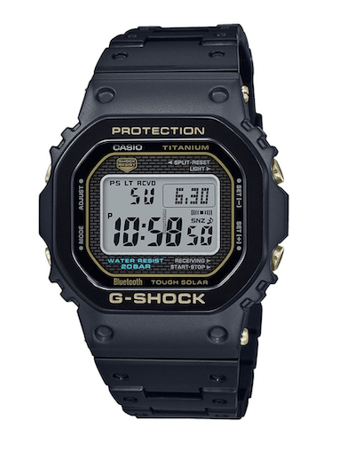 Casio G-Shock Men's GMW-B5000TB-1ER FULL-METAL TITANIUM