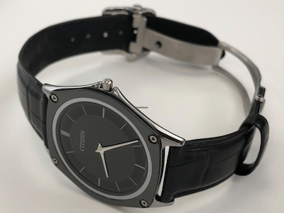 Citizen Eco-Drive One Limited on its side