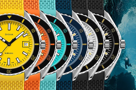 New watch: Doxa SUB 200 in bright new colors