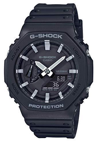 G-SHOCK GA-2100 white hands